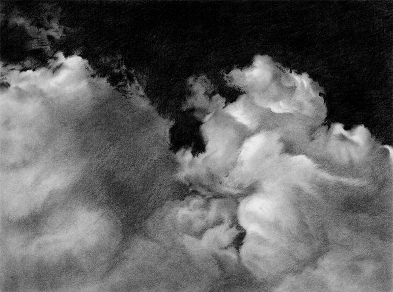 Toby Carr Fine Clouds 2 drawing
